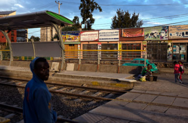Along the Light Rail — Addis Ababa