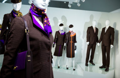 The new collection of Etihad Airways uniforms has been designed by Italian Haute Couturier, Ettore Bilotta.