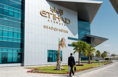 Etihad Airways Headquarters.